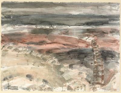Lot 300-Richard Charles Hobson - watercolour.