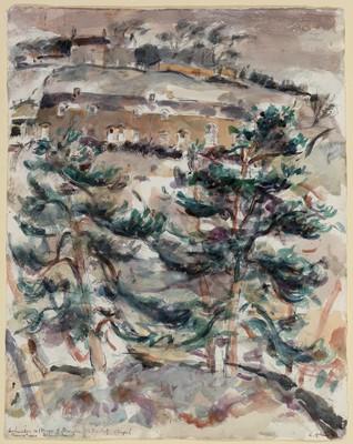 Lot 301-Richard Charles Hobson - watercolour.