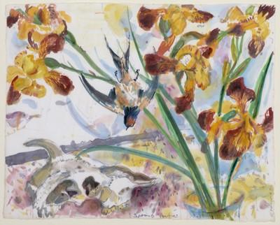 Lot 302-Richard Charles Hobson - watercolour.