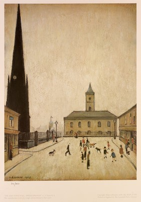 Lot 275-Laurence Stephen Lowry - limited edition.