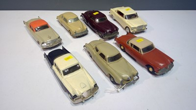 Lot 1288-Seven car models by Johann, AMT  and others.