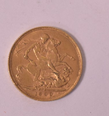 Lot 3-Gold sovereign