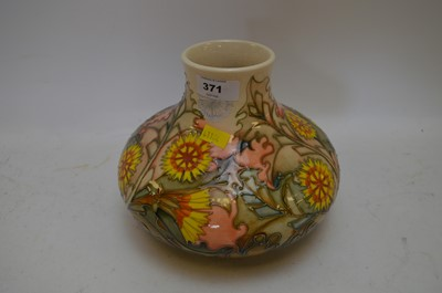 Lot 371 - Moorcroft Dandelion vase