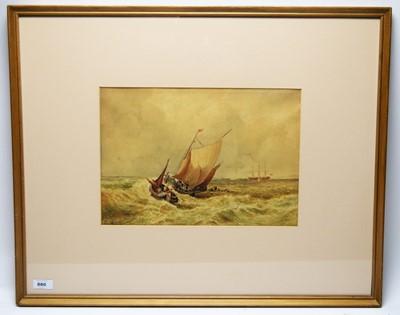 Lot 880 - Follower of Thomas Bush Hardy - watercolour