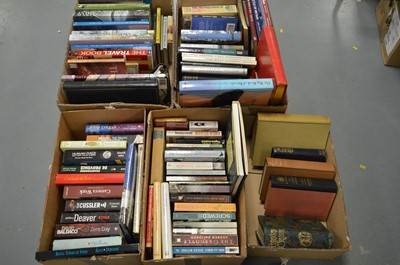 Lot 224 - Five boxes of mixed books