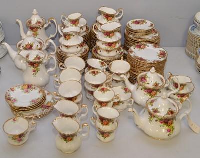 Lot 402 - Royal Albert and Royal Standard teaware.