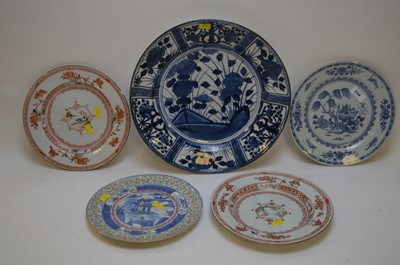 Lot 334 - Chinese plates