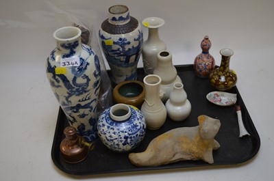 Lot 334a - Mixed chinese items