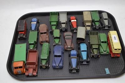 Lot 402-Dinky die cast cars