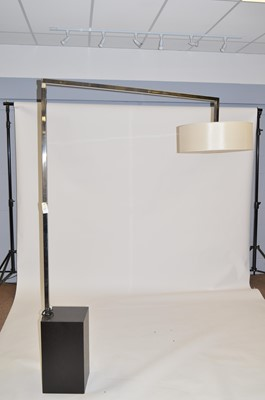 Lot 517 - Modenature Move Inox floor lamp supplied for an early project by Fiona Barratt Interiors.
