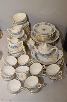 Lot 401 - Coalport 'Revelry' bone china items.