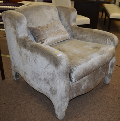 Lot 505 - Wychwood Design easy chair supplied for an early project by Fiona Barratt Interiors