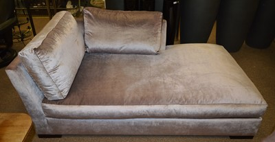 Lot 506 - Wychwood Design chaise longue supplied for an early project by Fiona Barratt Interiors.