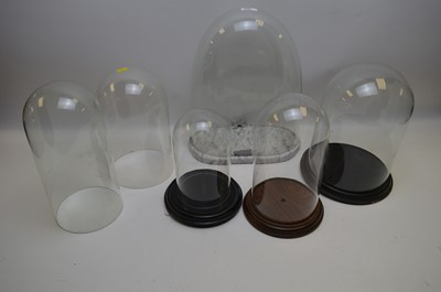 Lot 296 - Glass domes
