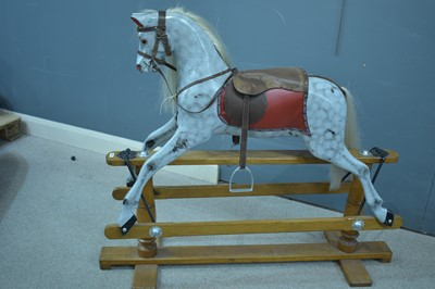 Lot 1105-Lines Bros. Ltd. 'Sportiboy' rocking horse.
