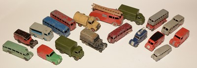 Lot 1108-Dinky vehicles unboxed (a qty)