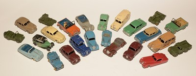 Lot 1110-Dinky diecast vehicles.