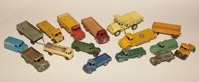 Lot 1112-Dinky vehicles unboxed