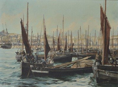 Lot 871 - Geoffrey Huband - oil on canvas board