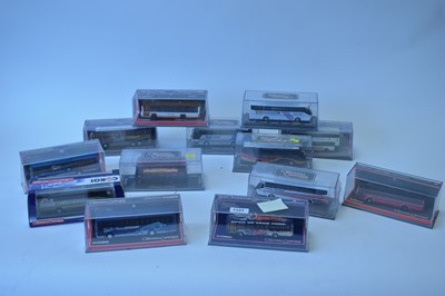 Lot 1121-Thirteen 1:76 scale Corgi Original Omnibus Company limited edition bus models.