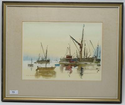 Lot 73 - Tom Oldham - watercolour.