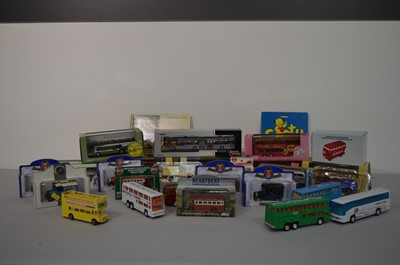 Lot 1122-Twenty seven diecast model vehicles various, boxed and unboxed, etc