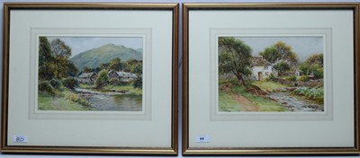 Lot 80 - Harry James Sticks - watercolours.