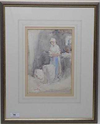 Lot 78 - Victor Noble Rainbird - watercolour.