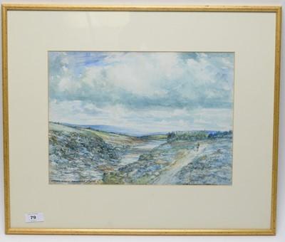 Lot 79 - Victor Noble Rainbird - watercolour.