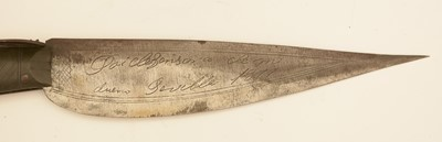 Lot 969-A 19th Century Spanish navaja folding knife