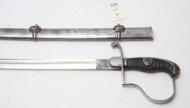Lot 977-German Officers sword