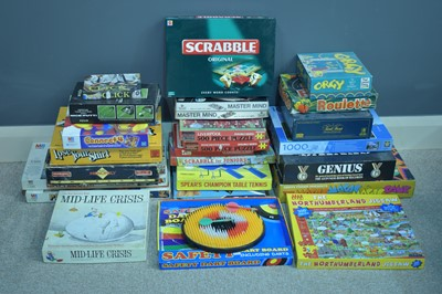 Lot 1115-Assorted board games, Jigsaws etc c1970's.