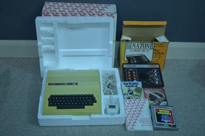 Lot 1118-Dragon 32 gaming computer, and a Binatone TV Master MK IV.