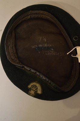 Lot 960-A collection of Durham Light Infantry hats