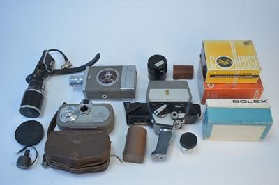 Lot 795-Cine cameras.