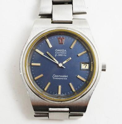 Lot 244A - Omega Electronic F300 Hz Seamaster Chronometer