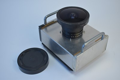 Lot 799-A large format wideangle camera.