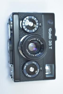 Lot 801-A Rollei  35T camera.