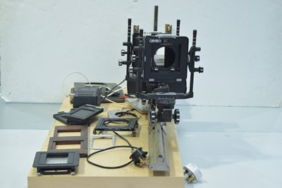Lot 780-A Cambo SC large-format camera, on monorail...
