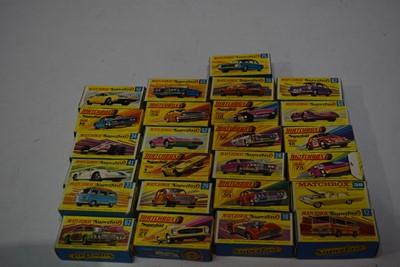 Lot 1238-Matchbox Superfast vehicles.