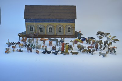 Lot 1103-Noah's Ark and animals.