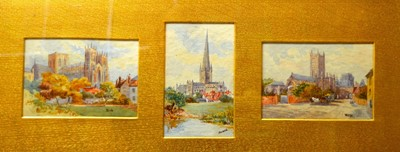 Lot 867 - 19th Century British School - watercolours