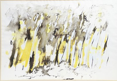 Lot 152 - Manuel Anderson- a watercolour and a print