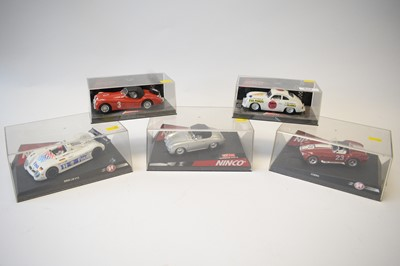 Lot 494 - Five Ninco slot racing cars