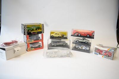 Lot 497 - Eleven slot cars