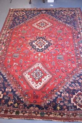 Lot 502 - Persian carpet.