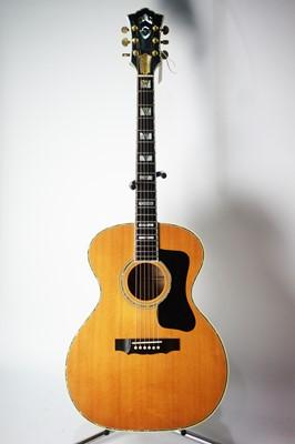 Lot 763 - Guild 45th Anniversary custom shop guitar, cased