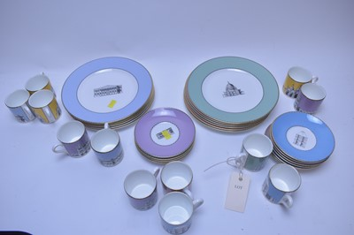 Lot 231 - Wedgwood coffee cups, saucers and plates.