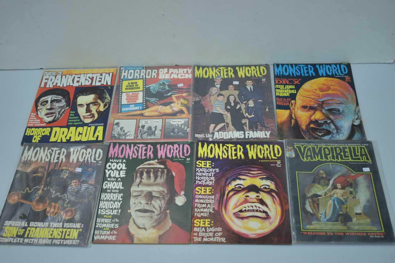 Lot 12 - Vampirella by Warren; and other comics.