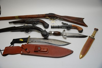 Lot 434 - Reproduction weapons